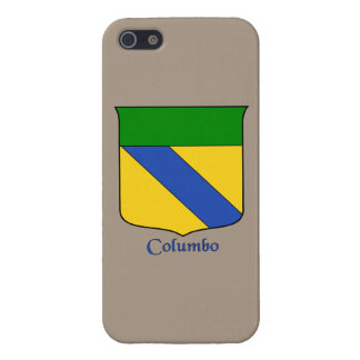Columbo Italian Surname Historical Shield Cover For iPhone SE/5/5s