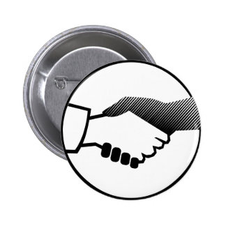 columbus 16  black white history agreement partner 2 inch round button