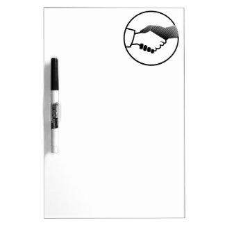 columbus 16  black white history agreement partner dry erase boards