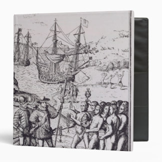 Columbus at Hispaniola 2 Binder