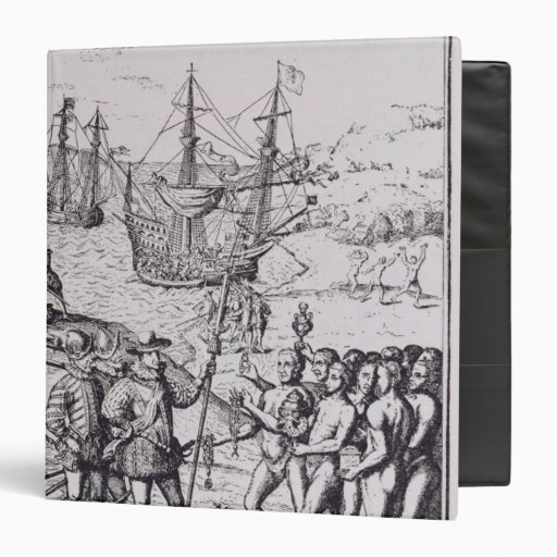 Columbus at Hispaniola 2 Binders