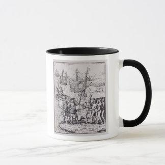 Columbus at Hispaniola 2 Mug