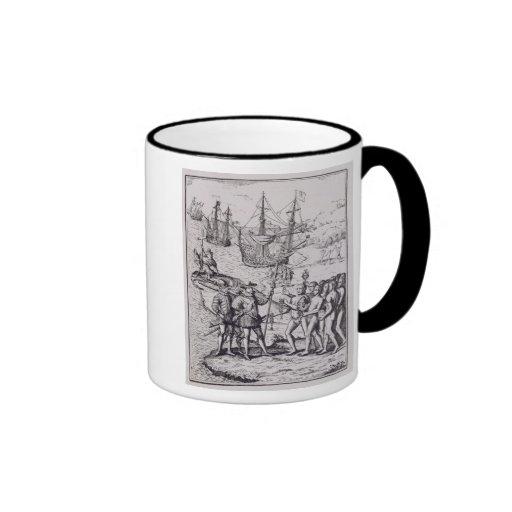 Columbus at Hispaniola 2 Coffee Mug