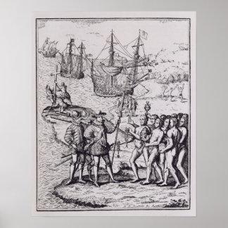 Columbus at Hispaniola 2 Poster