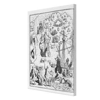 Columbus at Isla Margarita' Canvas Prints