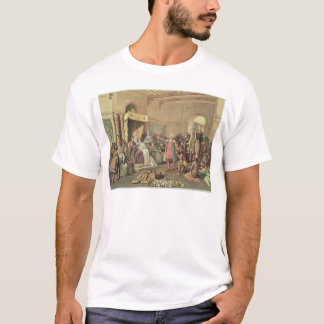 Columbus at the Royal Court of Spain in Barcelona T-Shirt