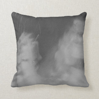 columbus based black metal project throw pillow