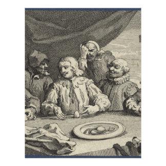 Columbus Breaking the Egg (Christopher Columbus) Letterhead
