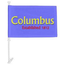 Columbus Car Flag