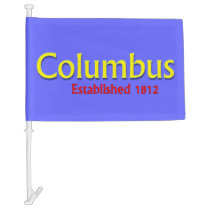 Columbus Car Flag