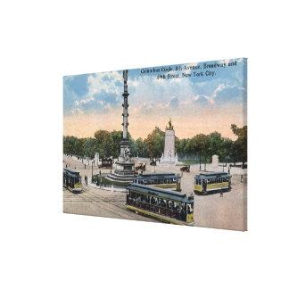 Columbus Circle & 8th Ave. Canvas Print
