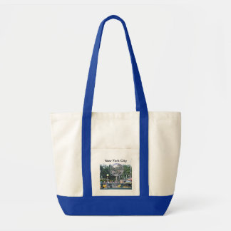 Columbus Circle Tote Bags