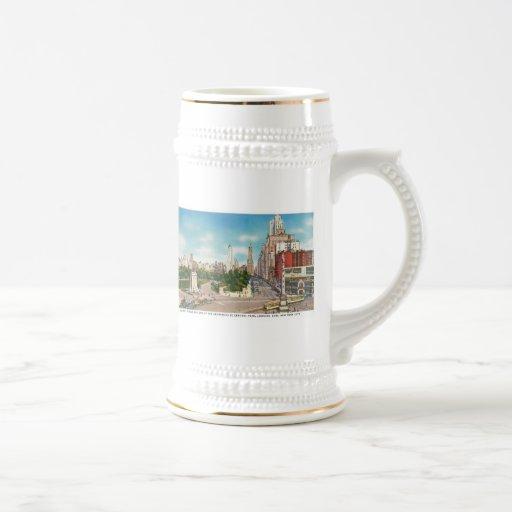 Columbus Circle, Central Park Mug