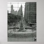 Columbus Circle NYC / Time Warner Poster