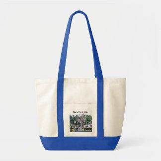 Columbus Circle Tote Bag