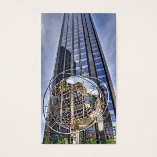 Columbus Circle Tower Central Park South Business Card
