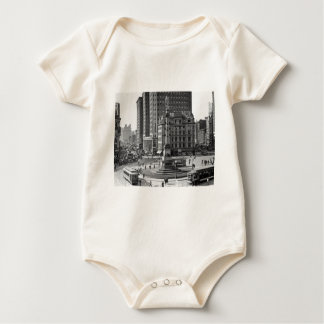 Columbus Circle Vintage Glass Slide Baby Bodysuit