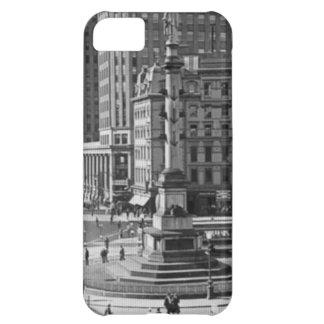 Columbus Circle Vintage Glass Slide iPhone 5C Cases