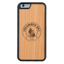 Columbus Day A1 Carved Cherry iPhone 6 Bumper Case