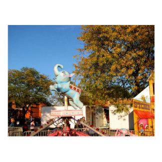 Columbus Day Fair at Farmingdale Postcard