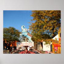 Columbus Day Fair at Farmingdale Poster