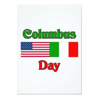 Columbus Day Invite