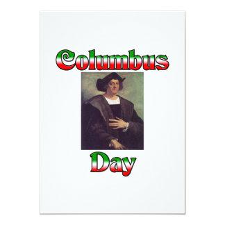 Columbus Day Custom Invites