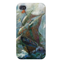 Columbus Day iPhone 4/4S Case