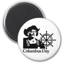 Columbus Day Magnet