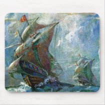 Columbus Day Mouse Pad