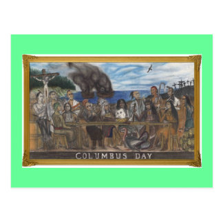 Columbus Day Postcard