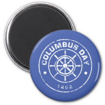 Columbus Day S Magnet