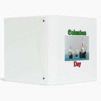 Columbus Day Ships Binders