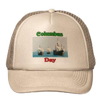 Columbus Day Ships Trucker Hat