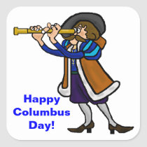 Columbus Day Stickers or Name Tags