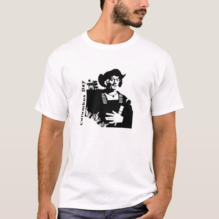 Columbus day t shirt zazzle for Columbus ohio t shirt printing