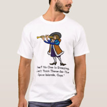 Columbus Day T-shirt -  Spice Islands?