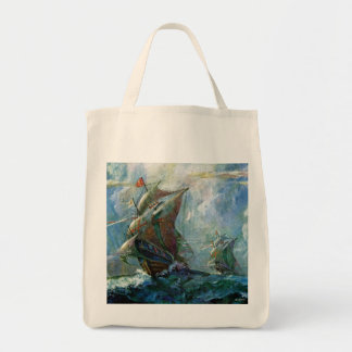 Columbus Day Tote Bag
