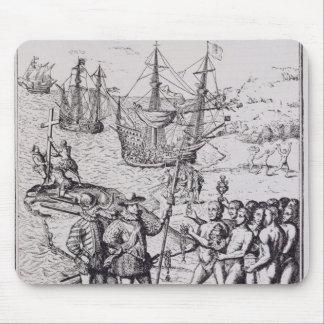 Columbus en La Española 2 Mouse Pads
