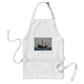 Columbus Era Ship Adult Apron