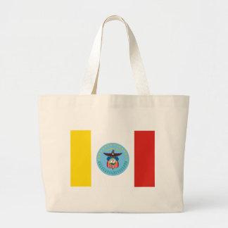 Columbus Flag Large Tote Bag