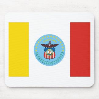 Columbus Flag Mouse Pad