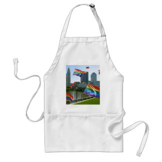 Columbus Flying Pride Adult Apron