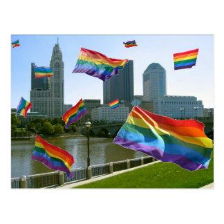 Columbus Flying Pride Postcard