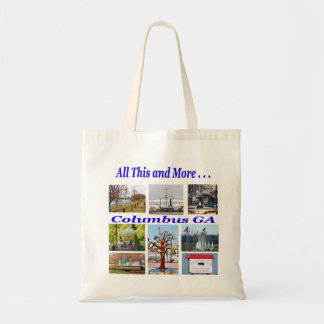 Columbus GA Souvenir Tote Bag