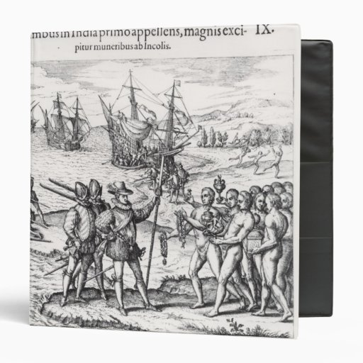 Columbus in What Was First Called India Vinyl Binders