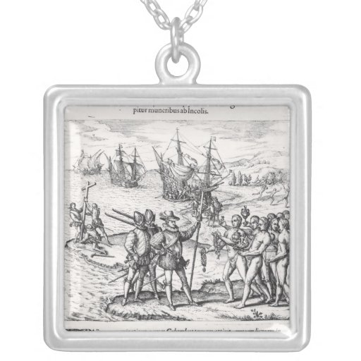 Columbus in What Was First Called India Jewelry