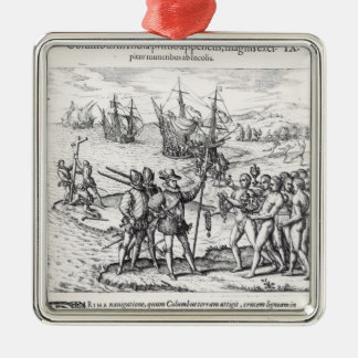 Columbus in What Was First Called India Christmas Tree Ornament