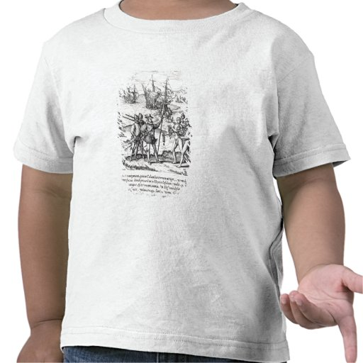 Columbus in What Was First Called India T Shirt