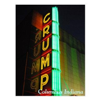Columbus Indiana Crump el teatro Postal